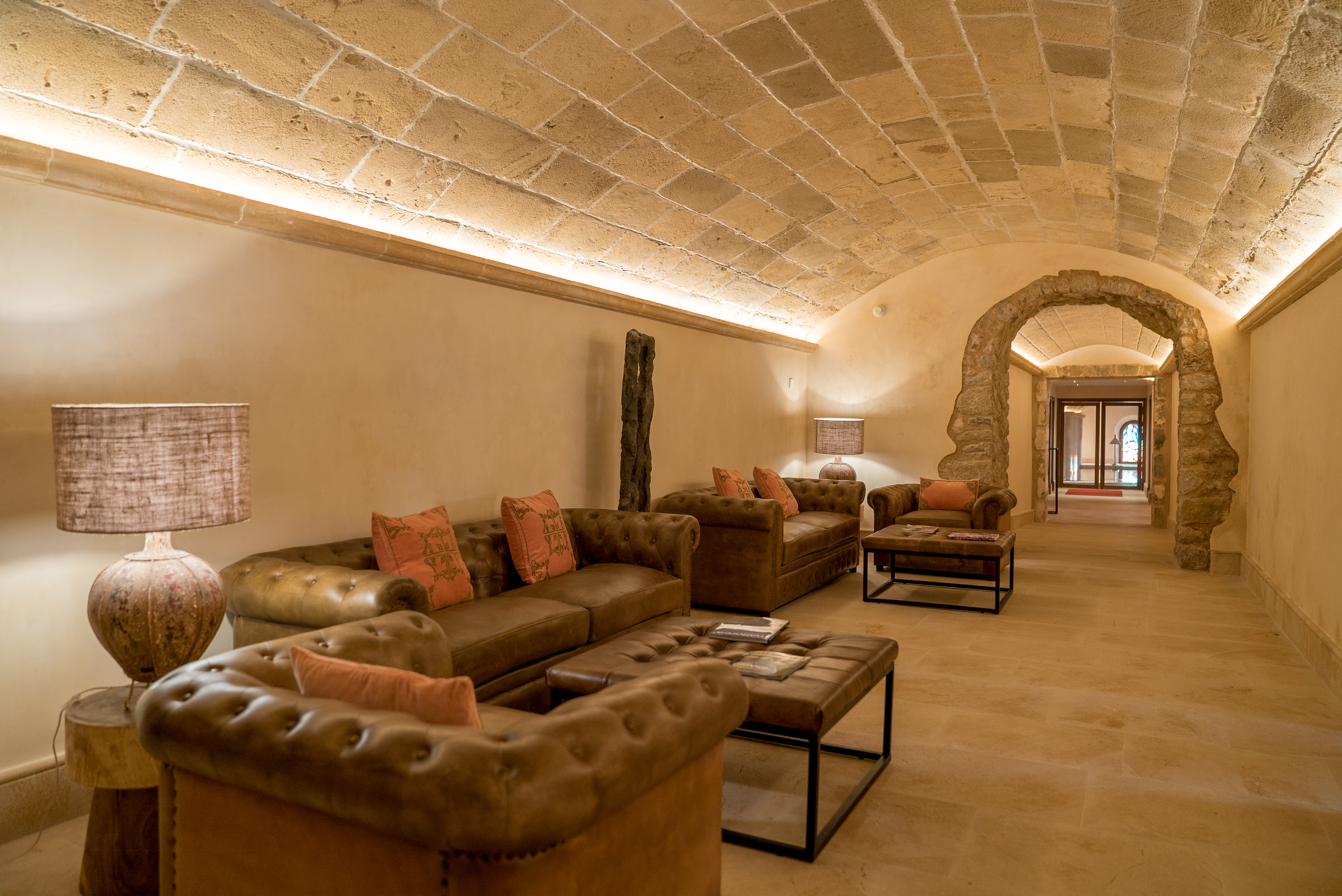 zona común hotel La creu - VICAL