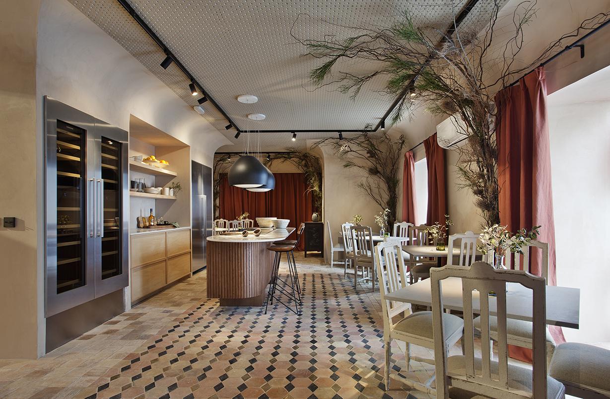 Restaurante vical en casadecor